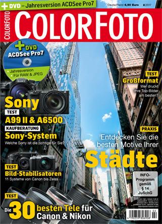 colorfoto, Ausgabe 02 / 2017