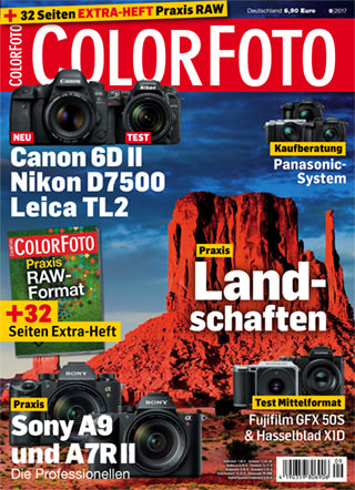 colorfoto, Ausgabe 09 / 2017