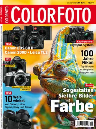 colorfoto, Ausgabe 10 / 2017