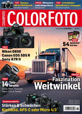 colorfoto, Ausgabe 11 / 2017