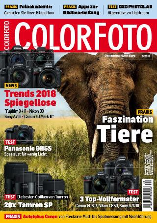 colorfoto, Ausgabe 03 / 2018