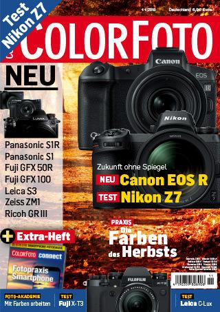 colorfoto, Ausgabe 11 / 2018