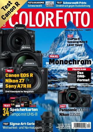 colorfoto, Ausgabe 12 / 2018
