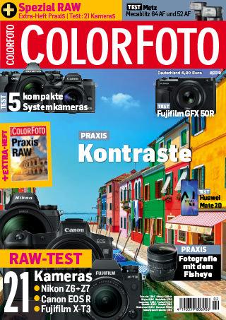 colorfoto, Ausgabe 02 / 2019
