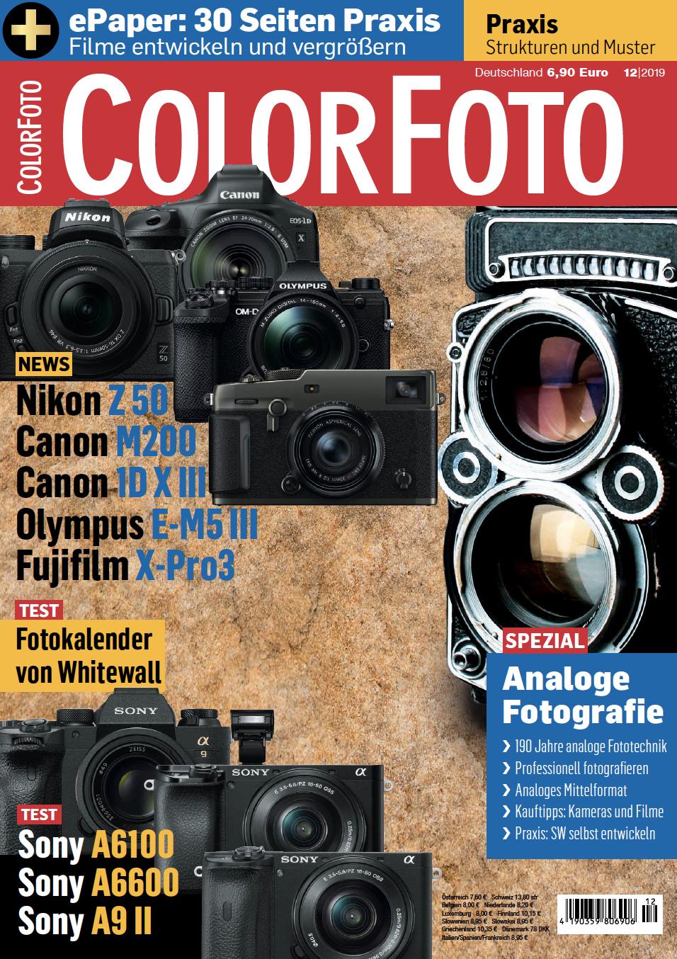 colorfoto, Ausgabe 12 / 2019
