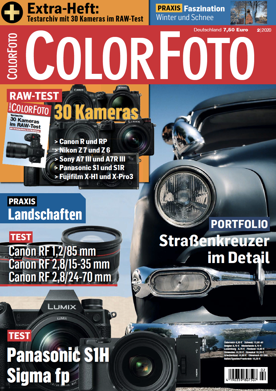 colorfoto, Ausgabe 02 / 2020