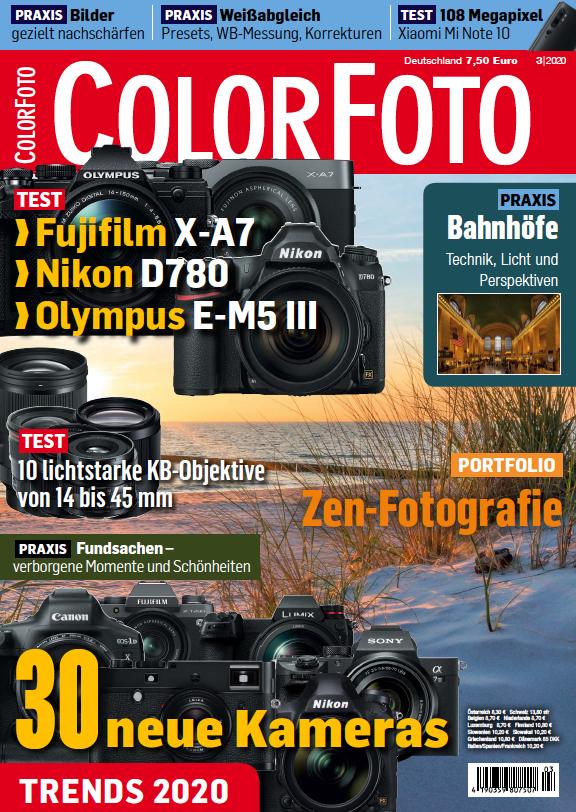 colorfoto, Ausgabe 03 / 2020