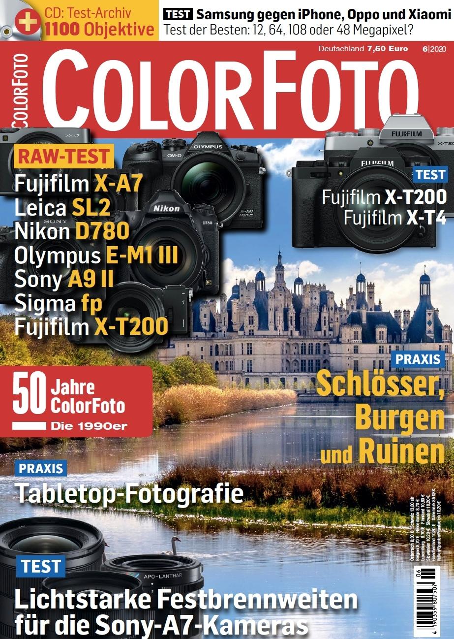 colorfoto, Ausgabe 06 / 2020