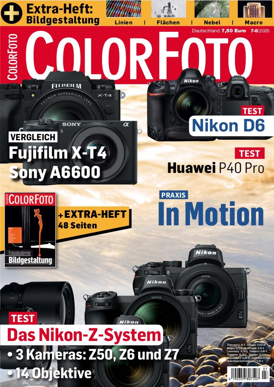 colorfoto, Ausgabe 07 / 08 / 2020