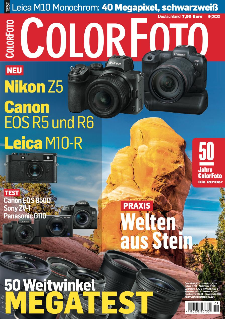 colorfoto, Ausgabe 09 / 2020