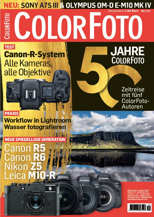 colorfoto, Ausgabe 10 / 2020