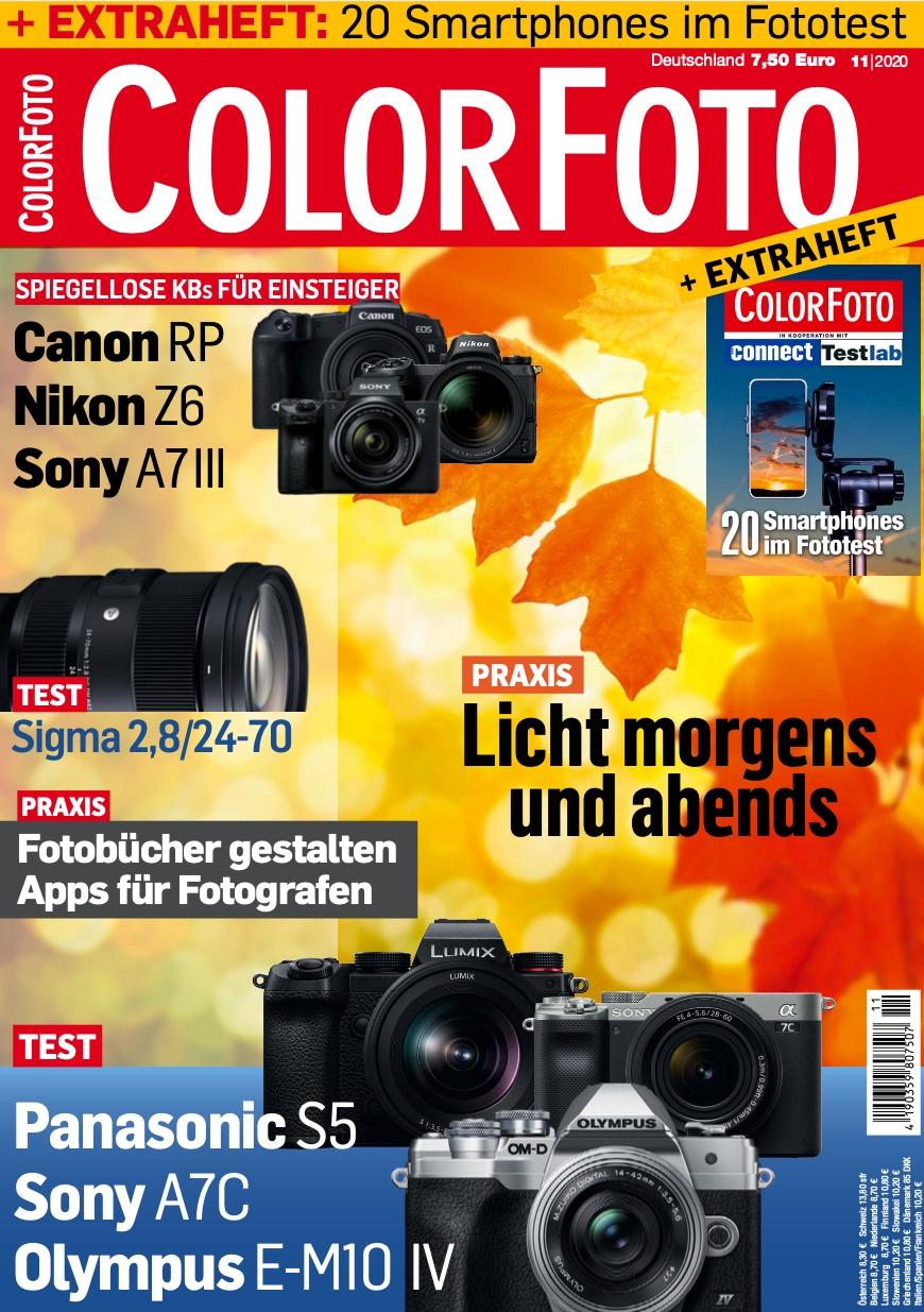 colorfoto, Ausgabe 11 / 2020