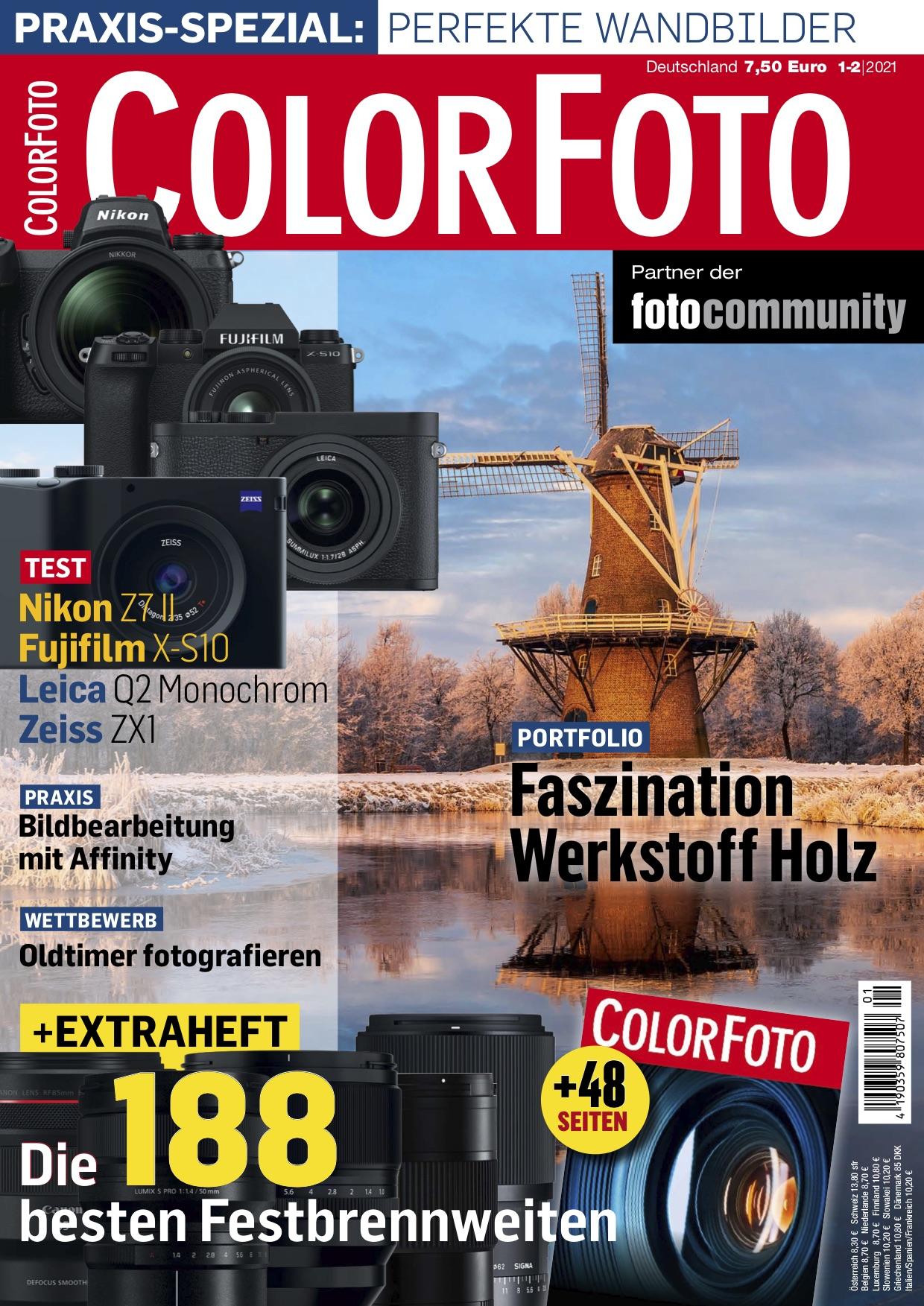 colorfoto, Ausgabe 01 / 02 / 2021