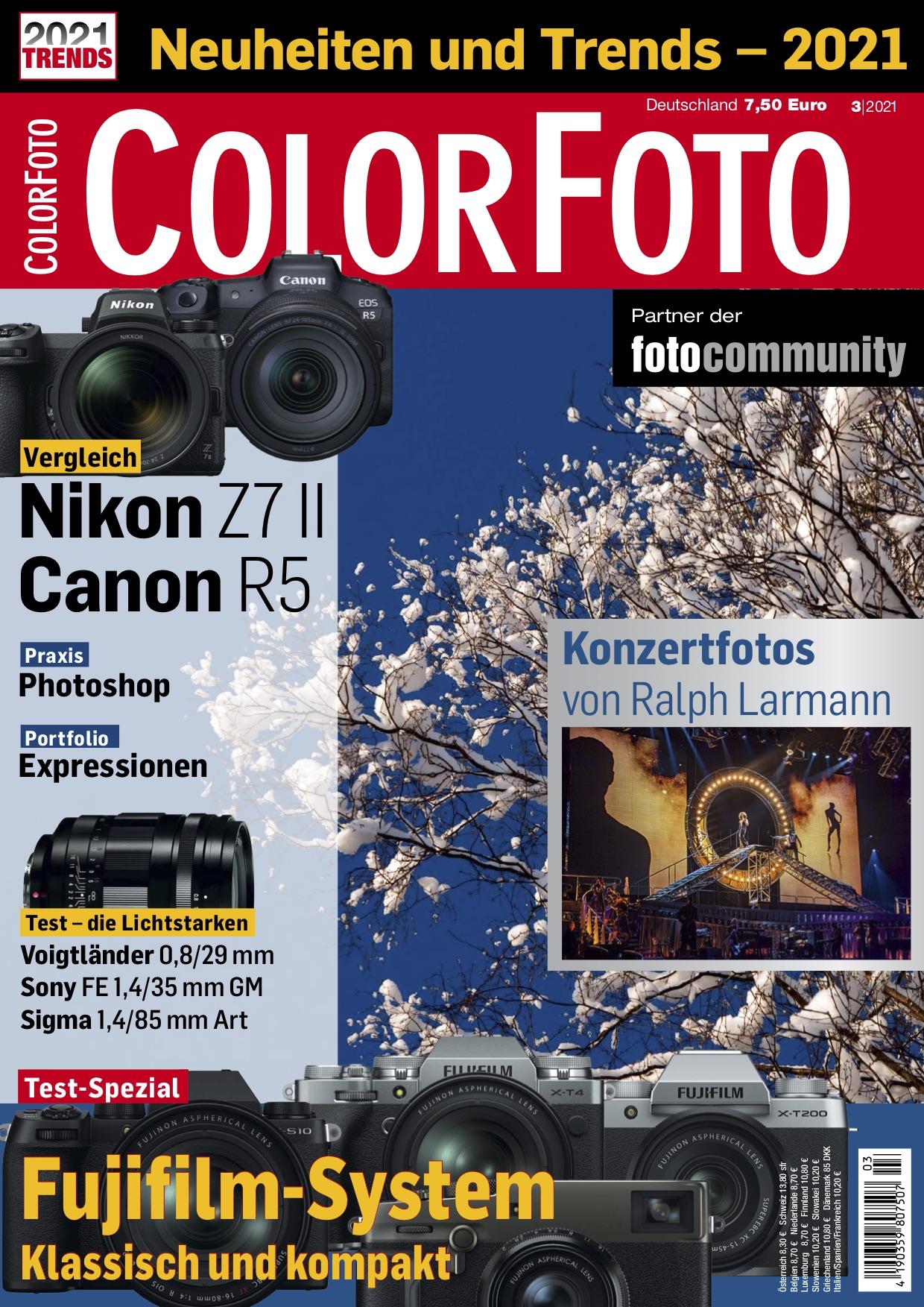 colorfoto, Ausgabe 03 / 2021