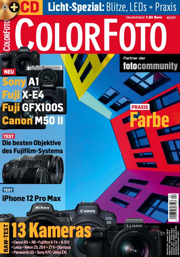 colorfoto, Ausgabe 04 / 2021