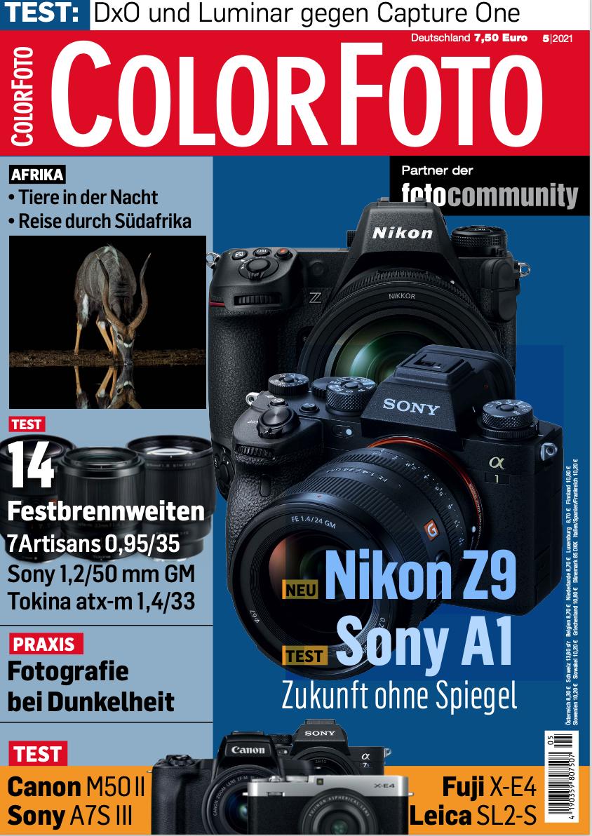 colorfoto, Ausgabe 05 / 2021