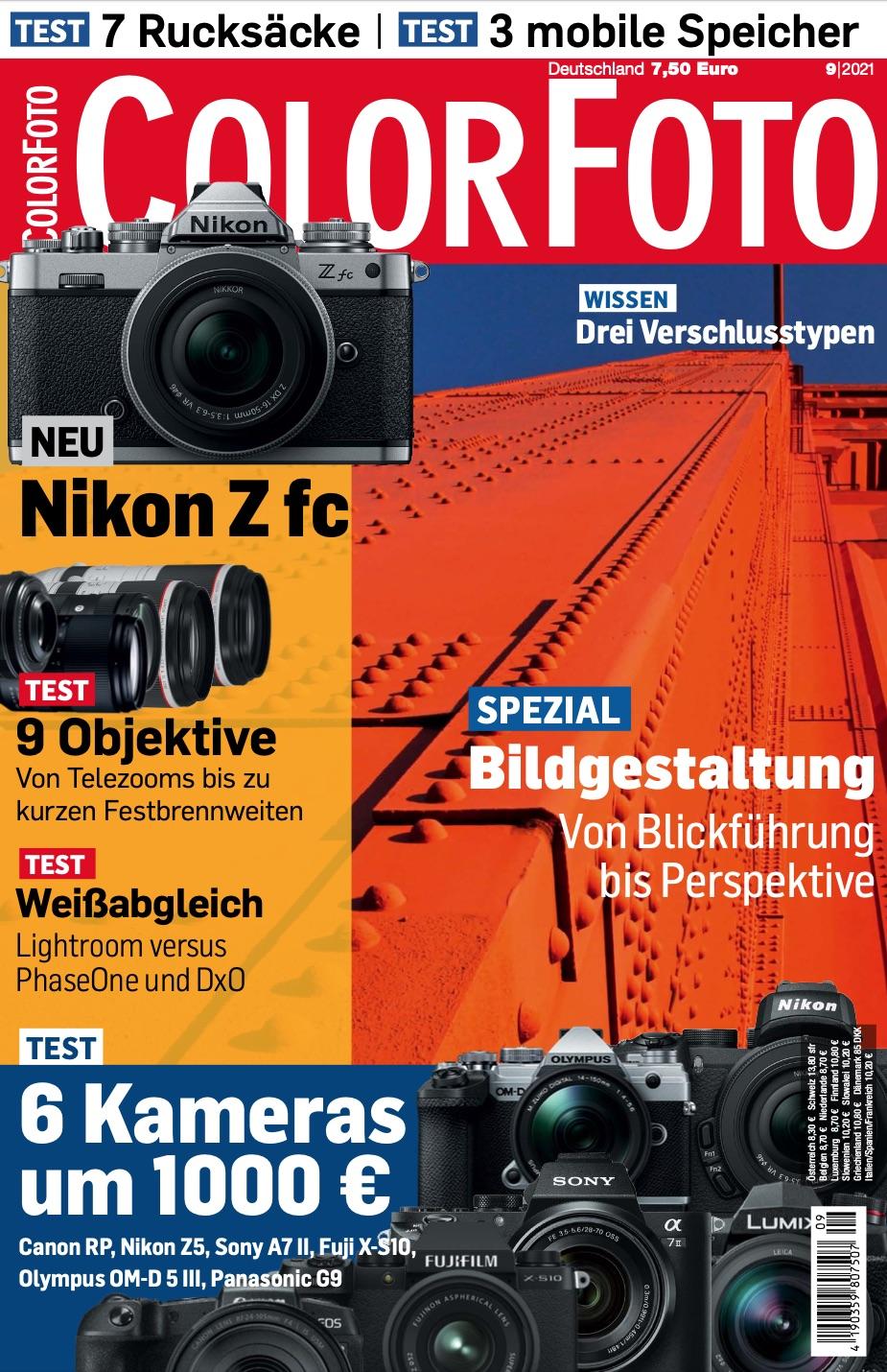 colorfoto, Ausgabe 09 / 2021