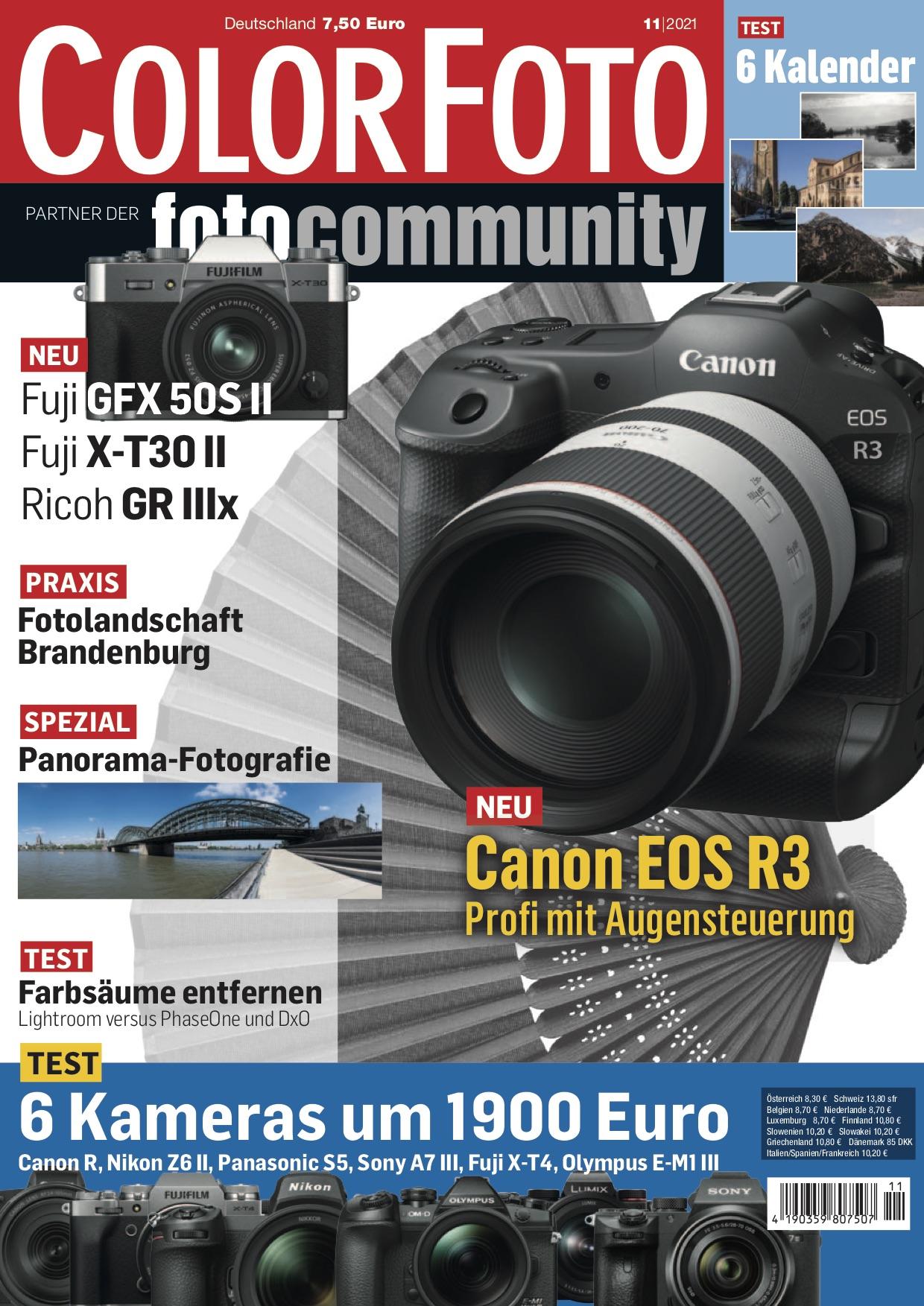 colorfoto, Ausgabe 11 / 2021